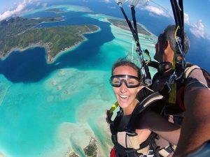 saut parachute moorea