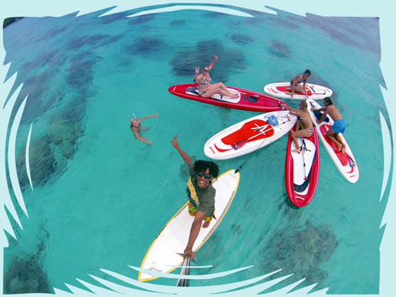 Stand Up Paddle Moorea